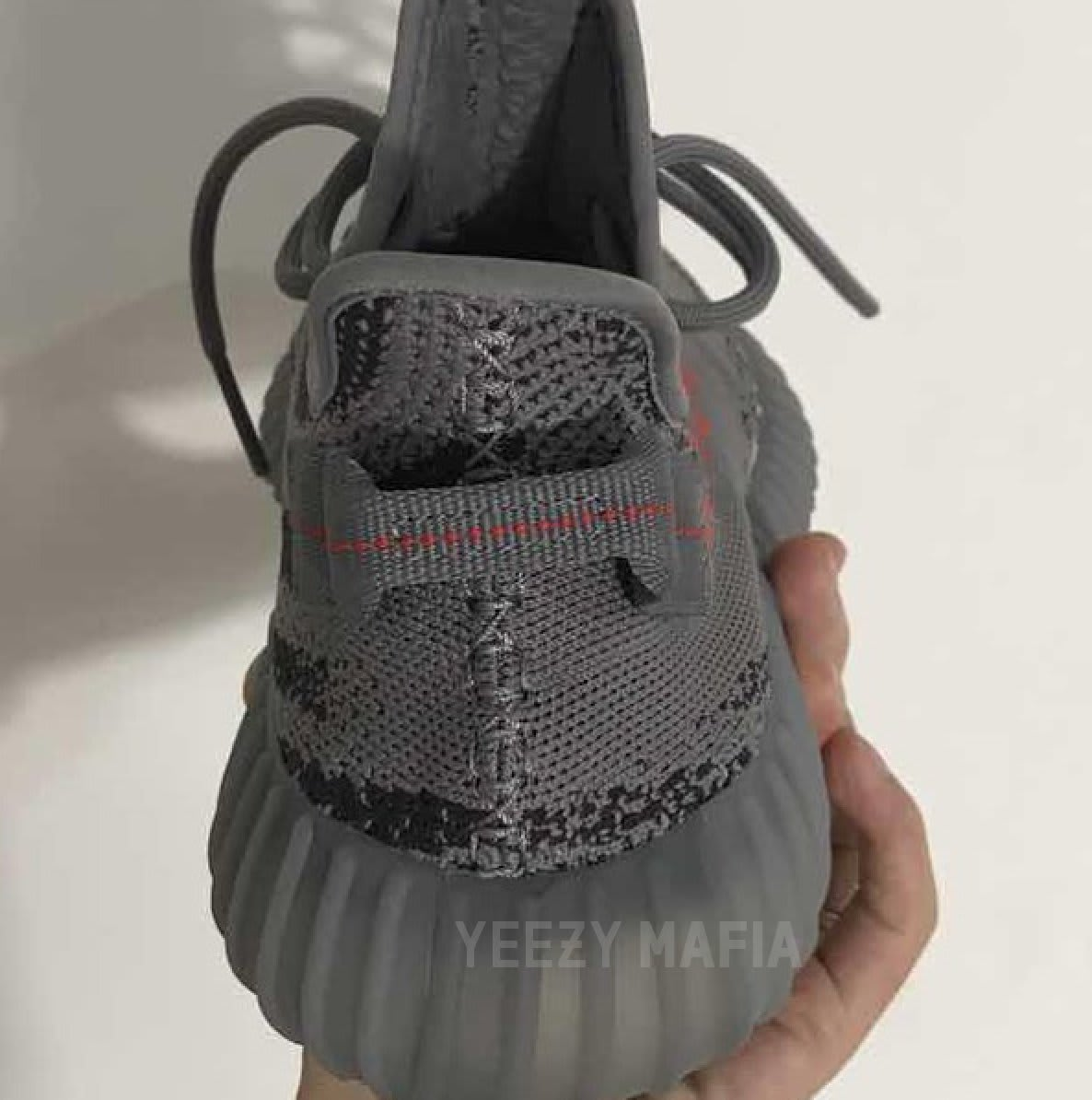 Adidas Yeezy Boost 350 V2 Grey Orange Release Date AH2203 (3)