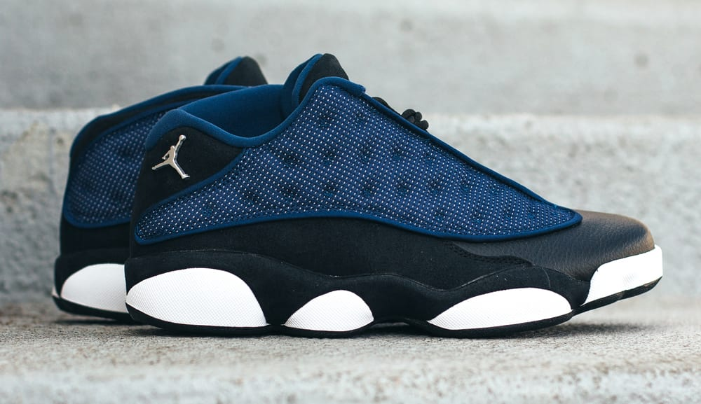 Brave Blue Air Jordan 13 Low 310810-407 Profile