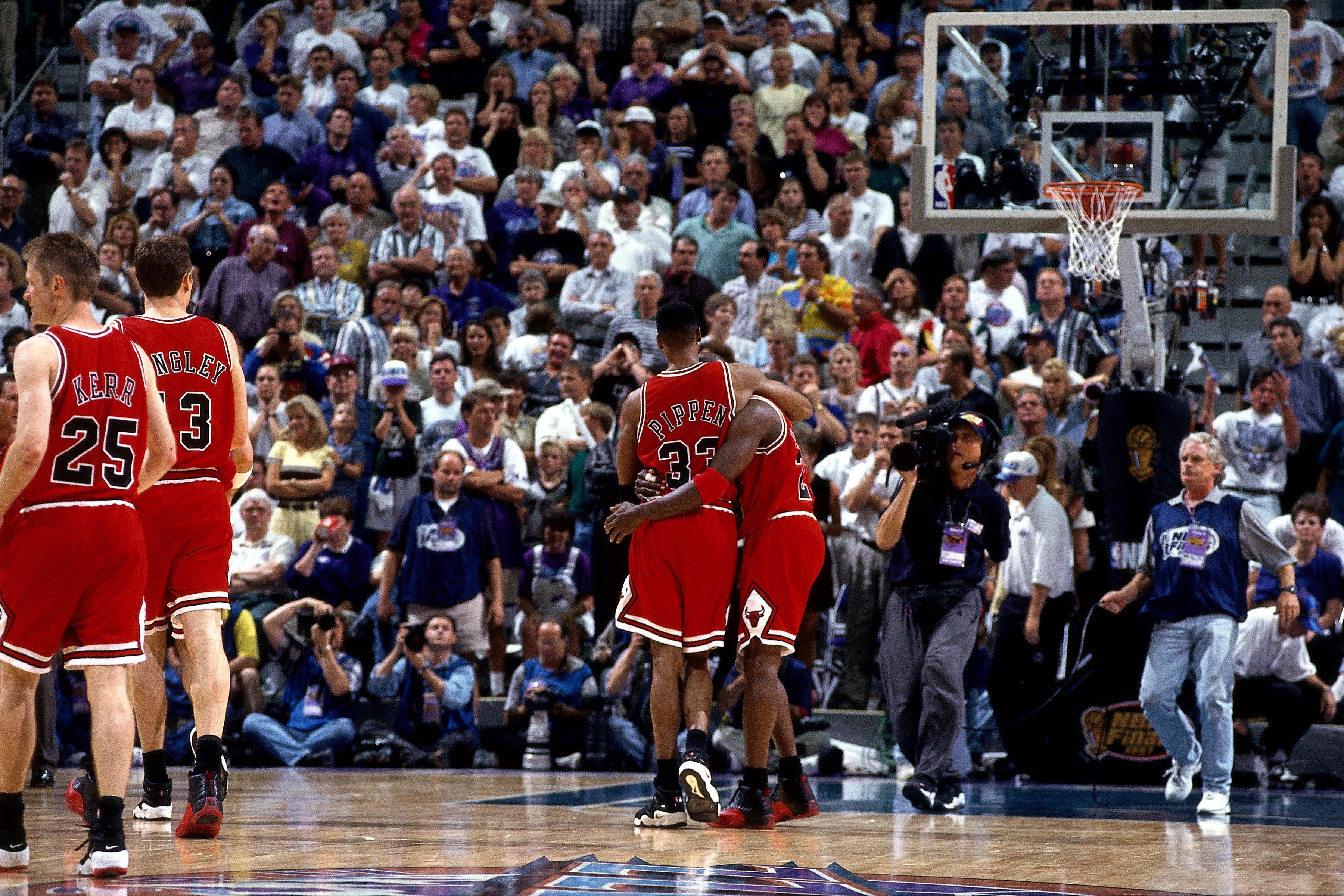 Michael Jordan Flu Game
