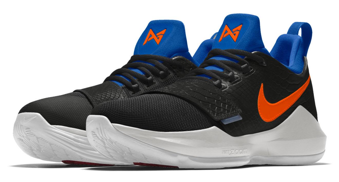 Nike ID PG1 OKC Black