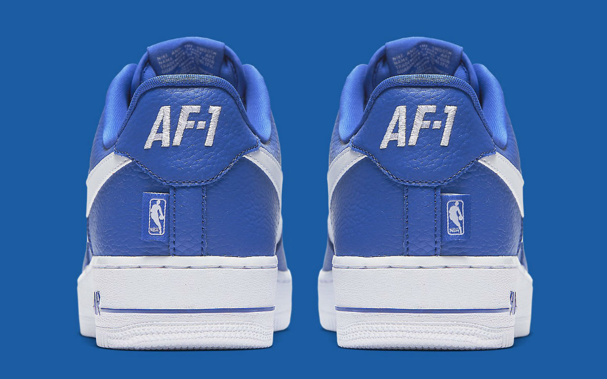 Nike Air Force 1 Low NBA Statement Game Release Date Heel 823511-405