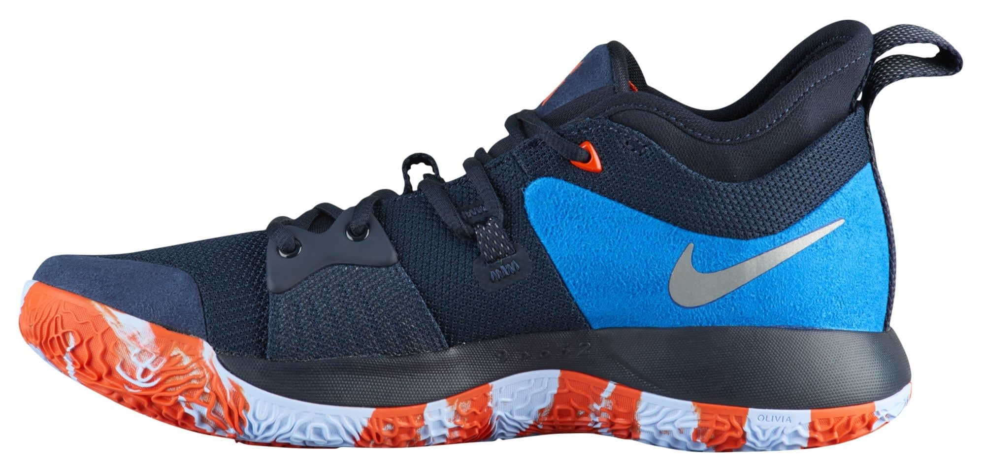 Nike PG2 Home Obsidian Release Date AJ2039-400 Medial