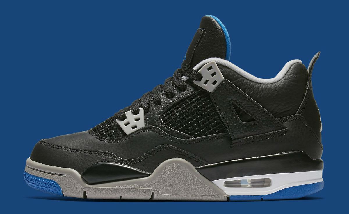 Air Jordan 4 Game Royal Gradeschool Release Date 408452-006