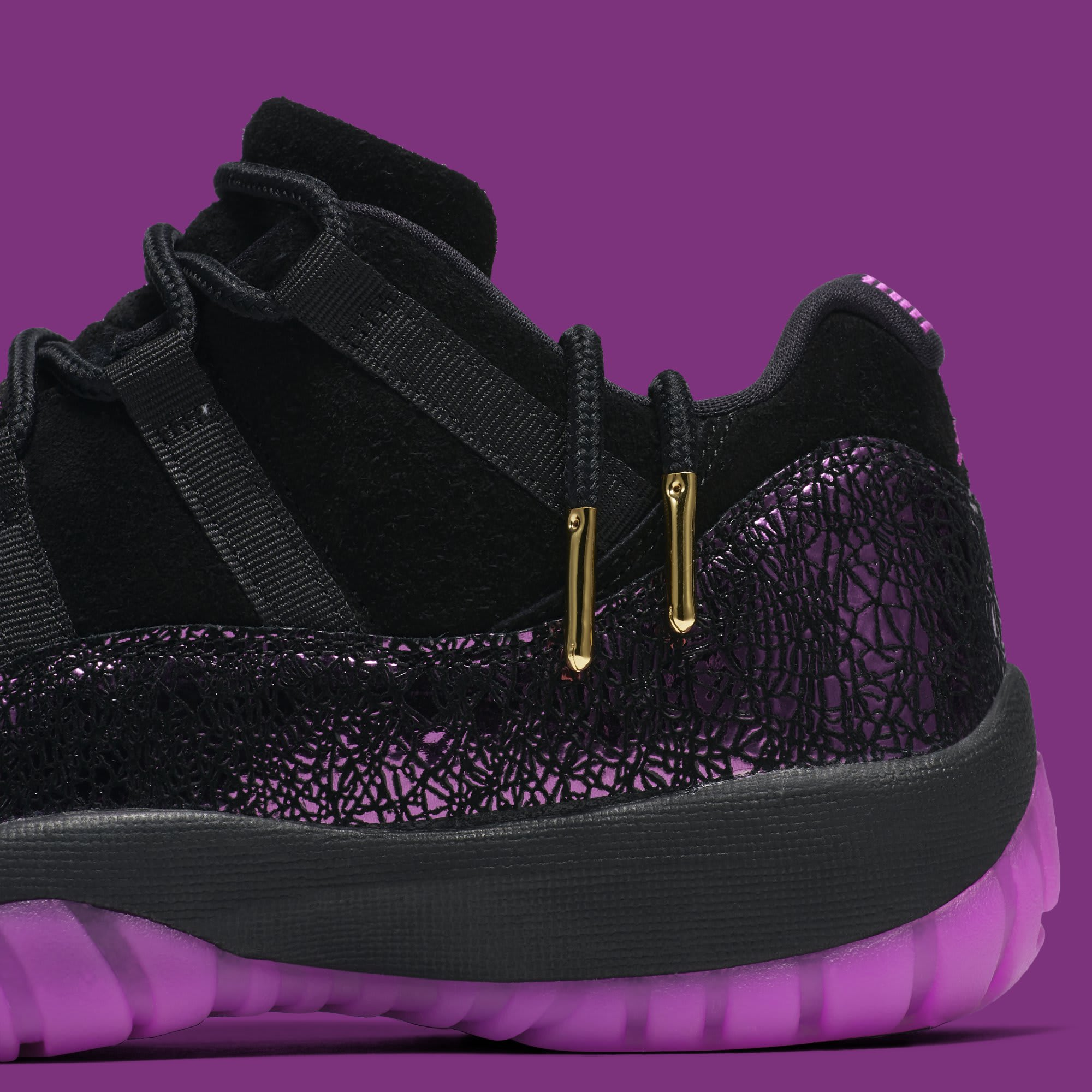 Air Jordan 11 Low 'Rook to Queen' AQ5149-005 (Detail)