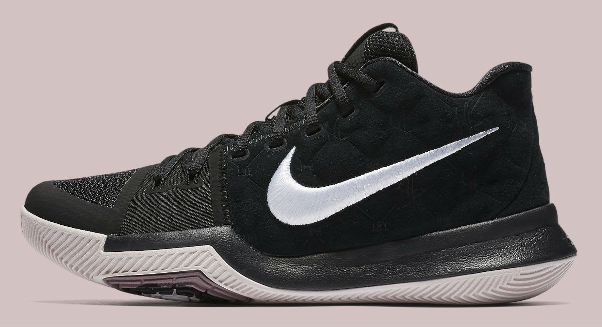 huge discount eca89 65bac ... Nike Kyrie 3 Silt Red Release Date Profile 852395-010 ...