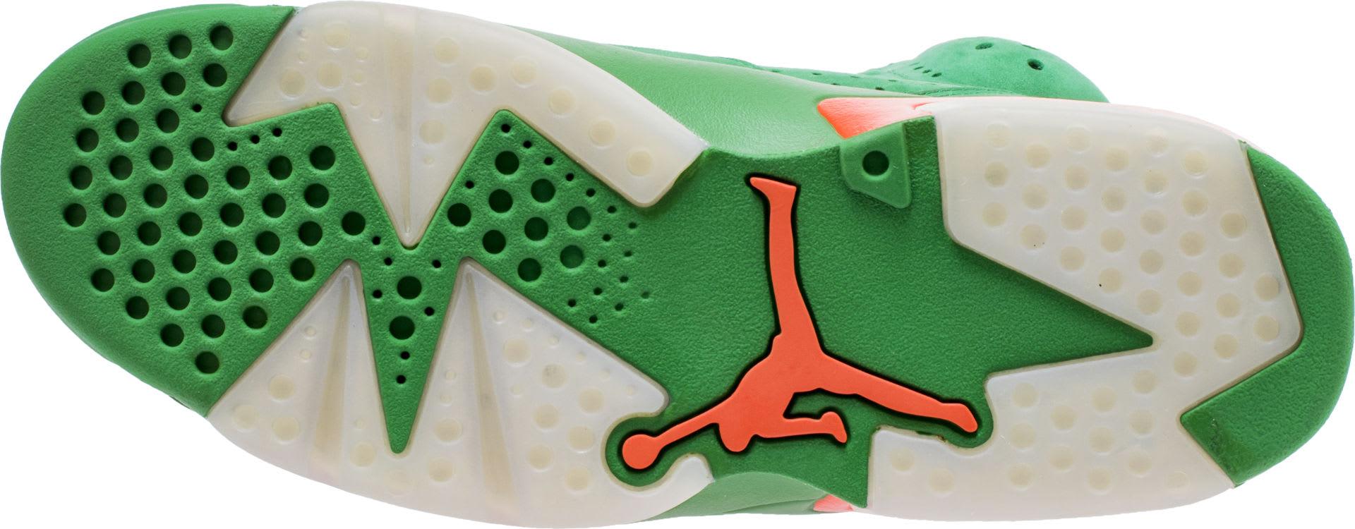 Air Jordan 6 VI Gatorade Green Release Date AJ5986-335 Sole