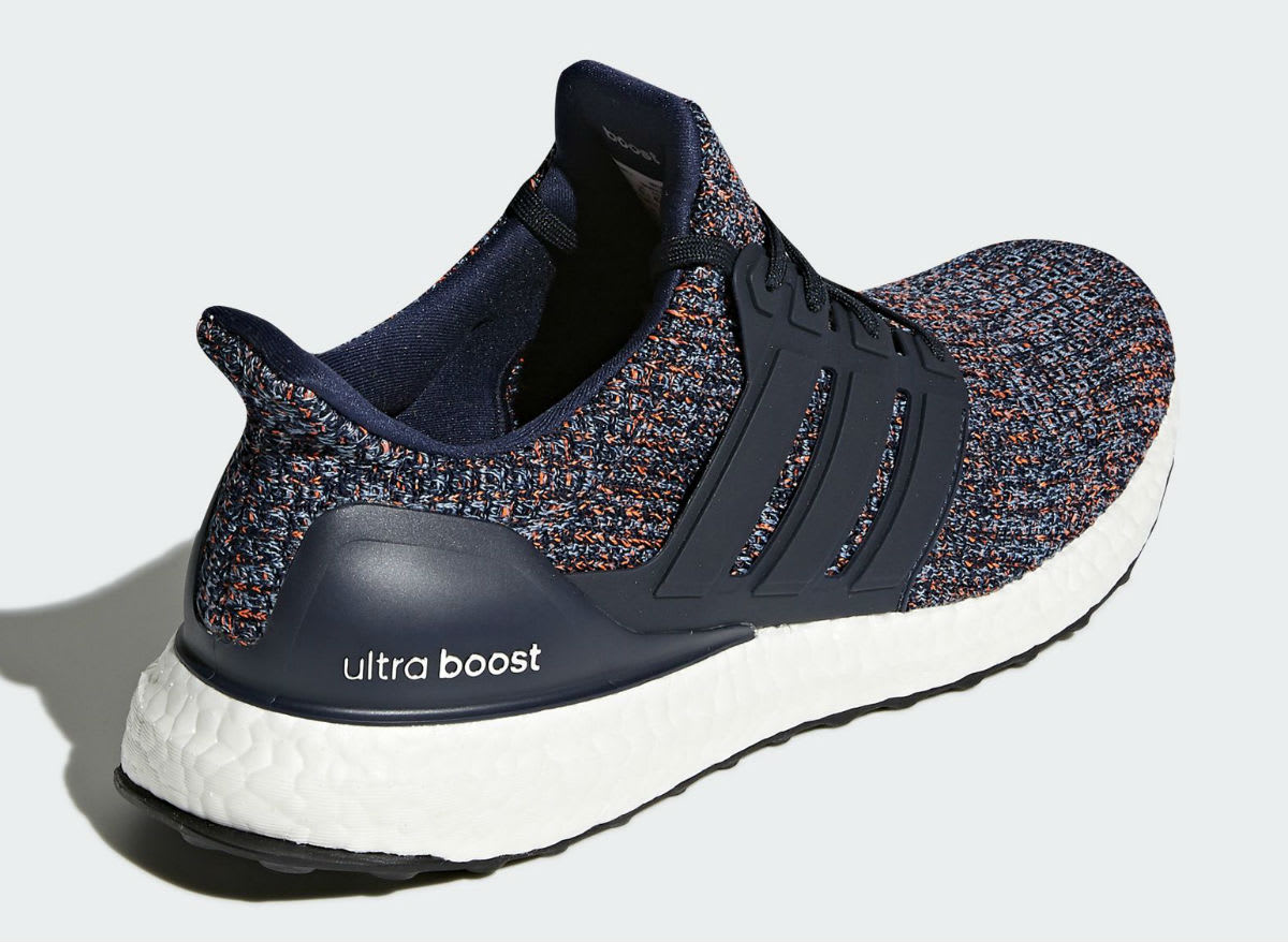 Adidas Ultra Boost Navy Multicolor BB6165 Release Date Heel
