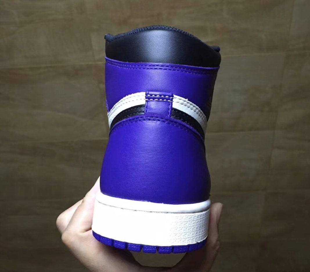 Air Jordan 1 'Court Purple' 2