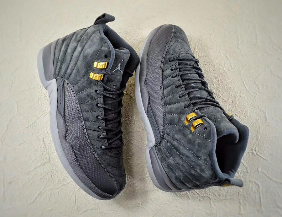 air jordan 12 retro dark grey