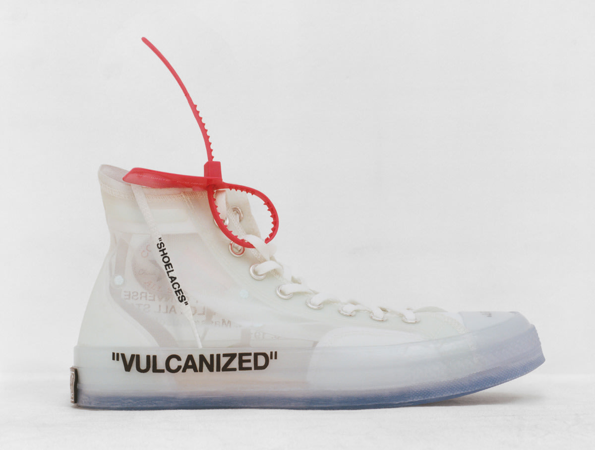 Virgil Abloh x Converse Chuck Taylor All Star