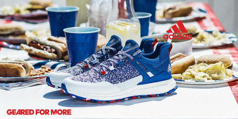 Adidas Golf U.S. Open Fourth of July Crossknit Boost