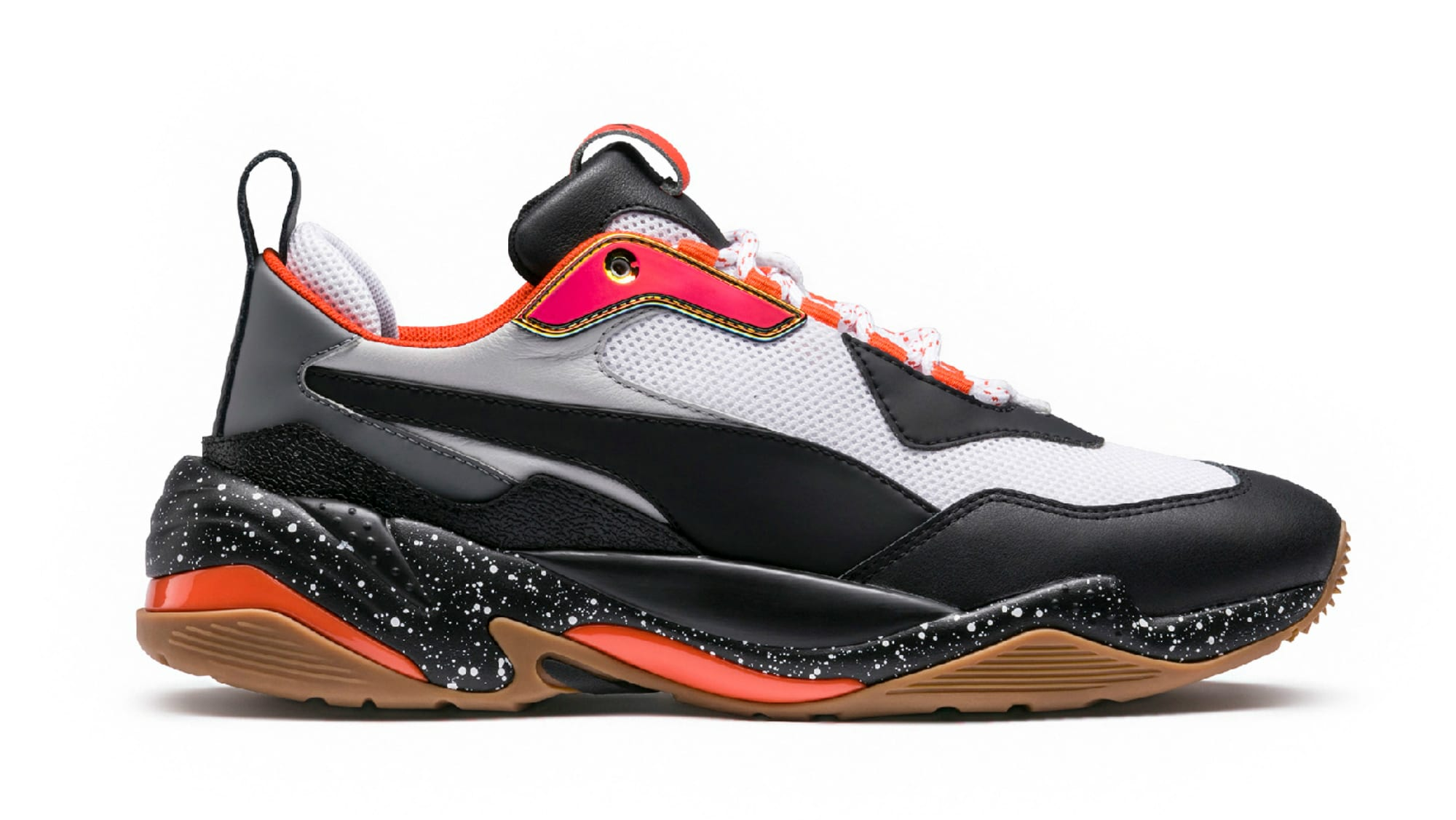 Puma Thunder Electric Black/Grey/Orange