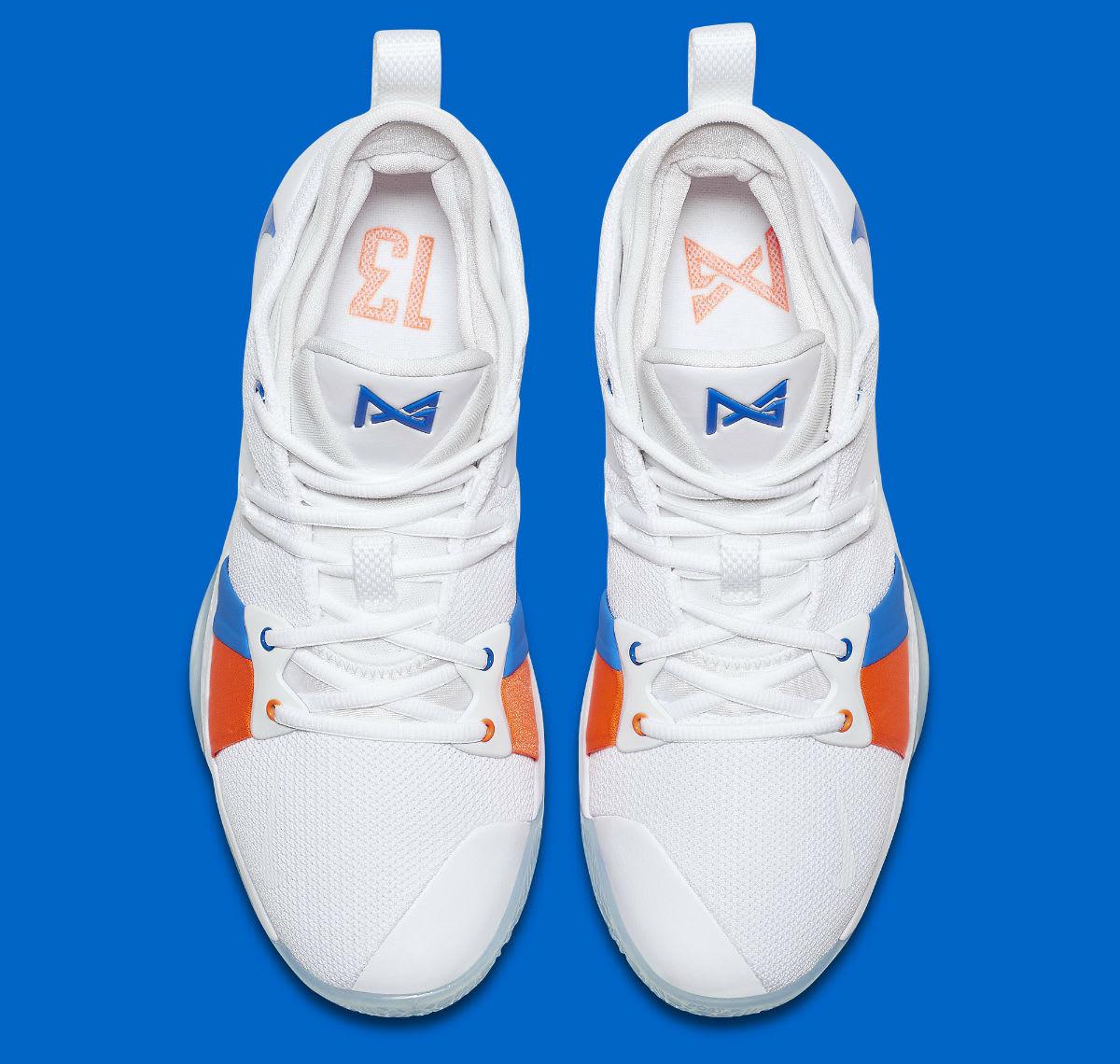 0502589d7d1 Nike PG2 OKC Home Release Date AJ2039-100 Main - Premier Kicks