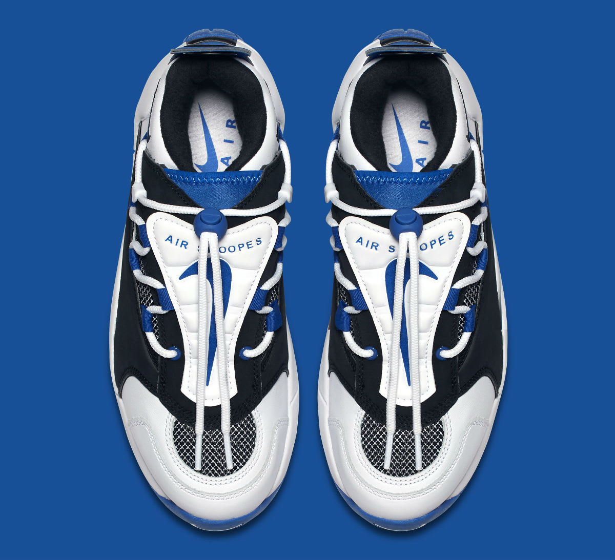 Nike Air Swoopes 2 II White Blue Release Date 917592-101 Top