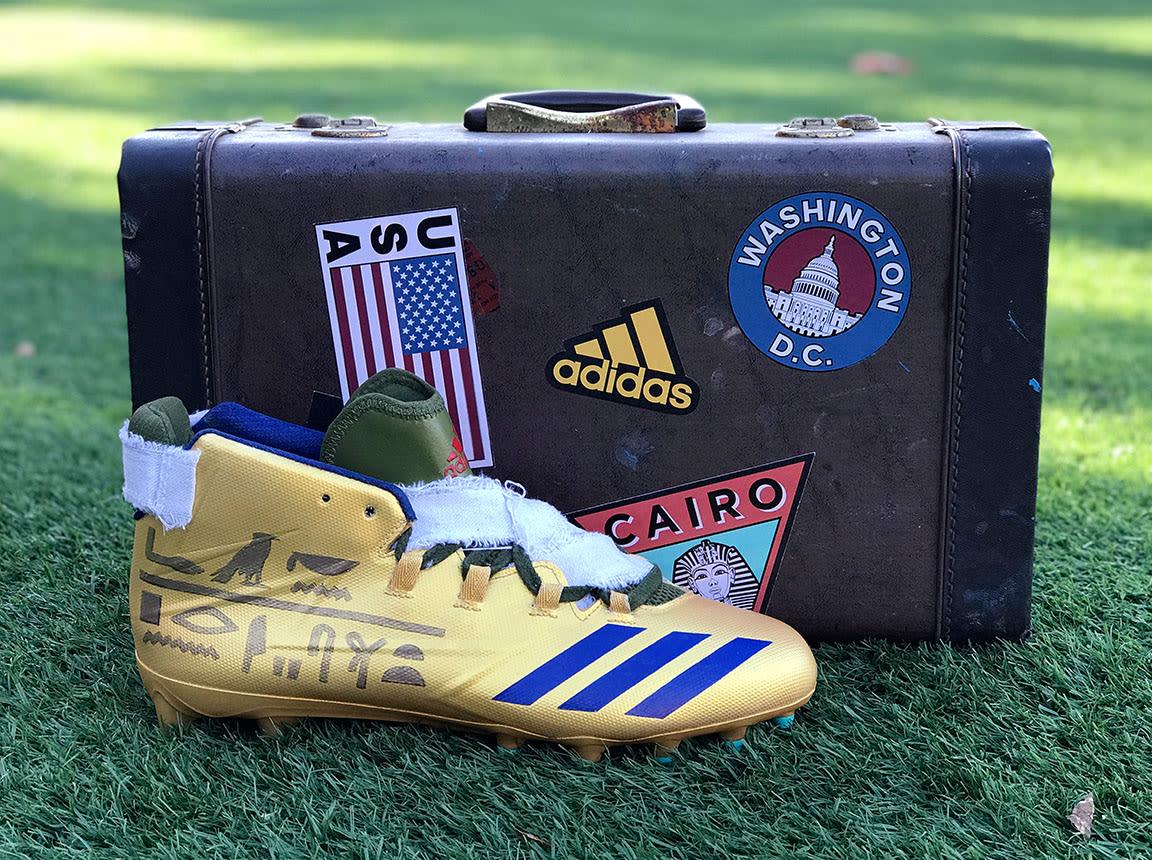Adidas Freak Dak Prescott Halloween Cleats Profile