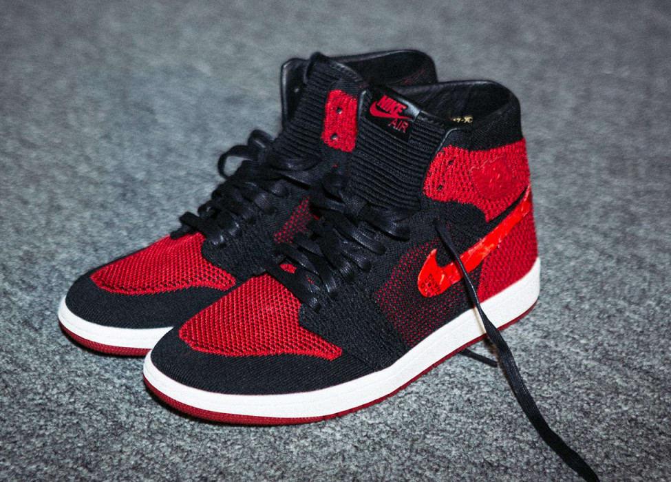 Air Jordan 1 Flyknit Fashion Week 2