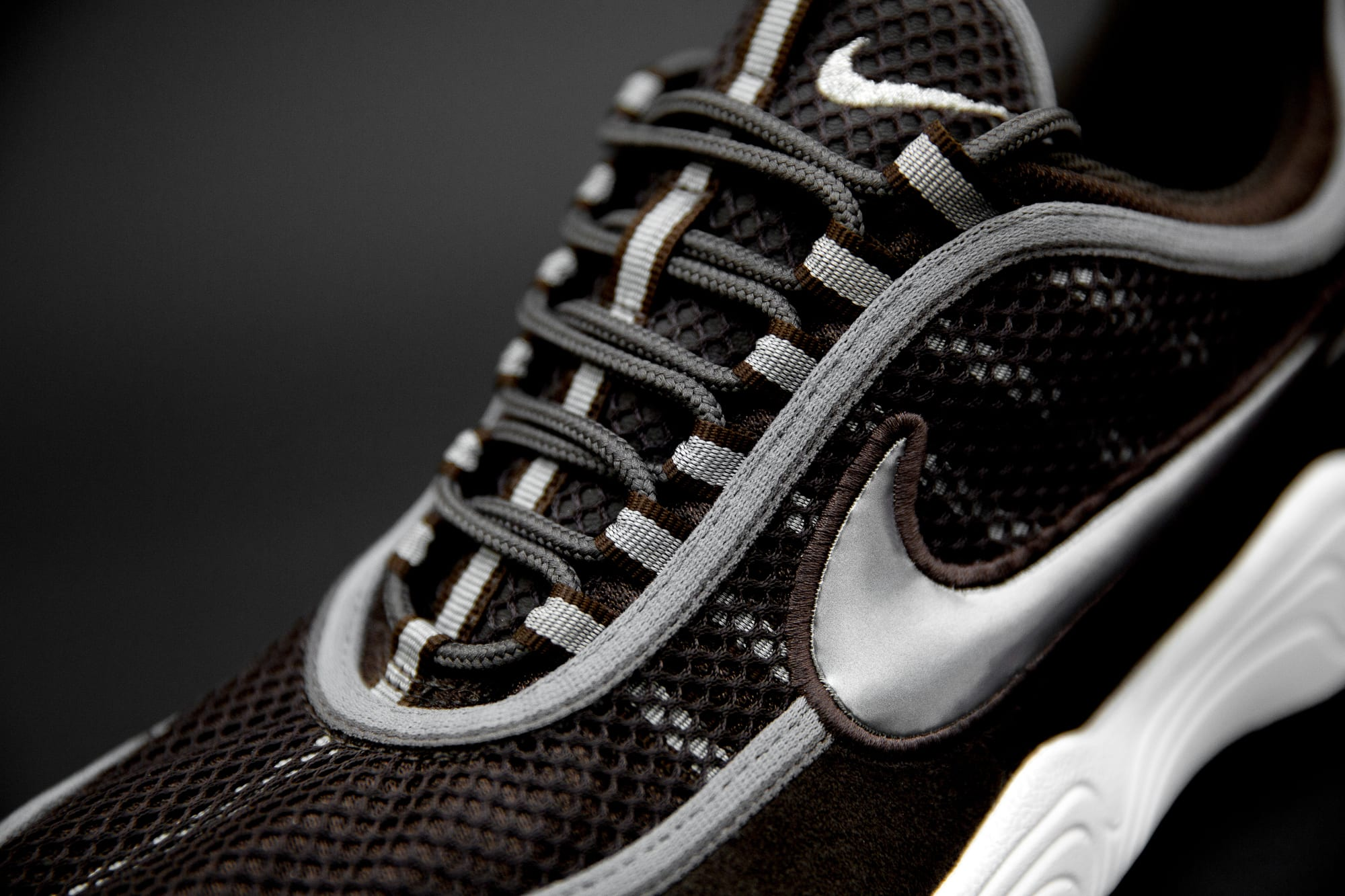 size? exclusive Nike Zoom Spiridon 'Brown' (Tongue)