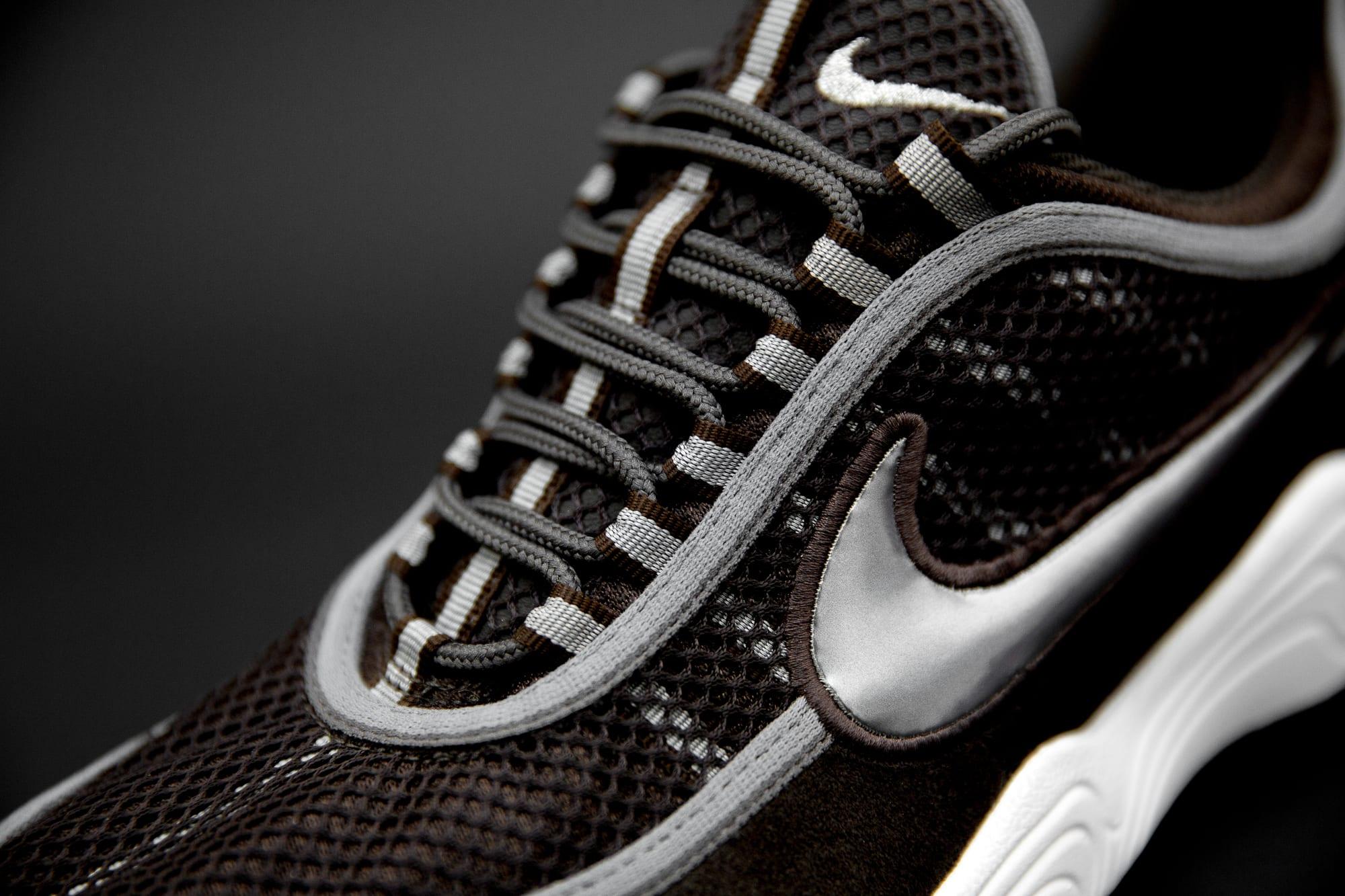 size? exclusive Nike Zoom Spiridon 'Brown' (Tongue)
