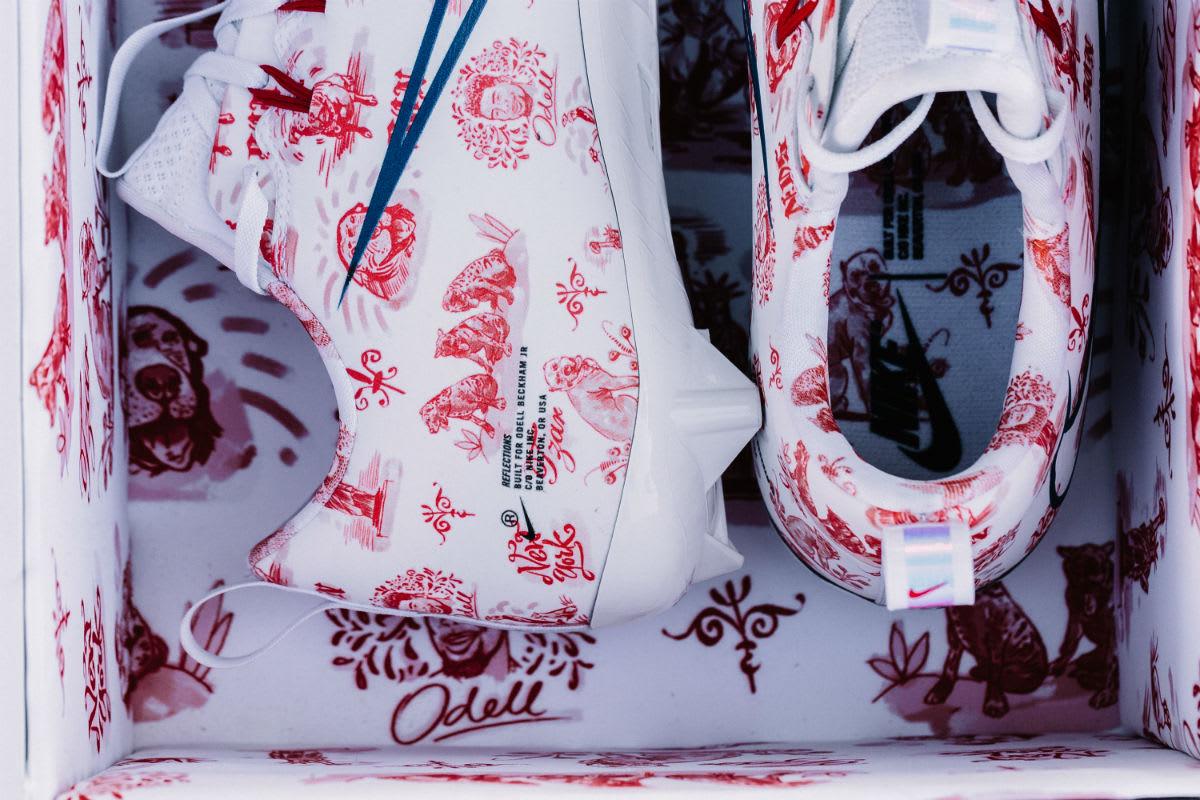 Odell Beckham Nike Vapor Untouchable Reflections Custom Cleats (2)