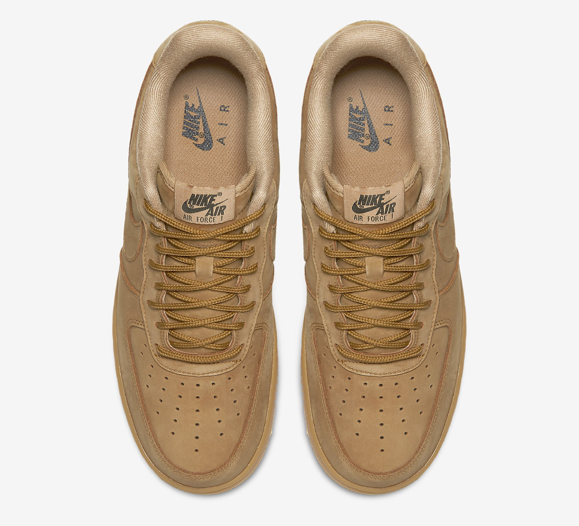 Wheat Nike Air Force 1 Low AA4016-200 Top