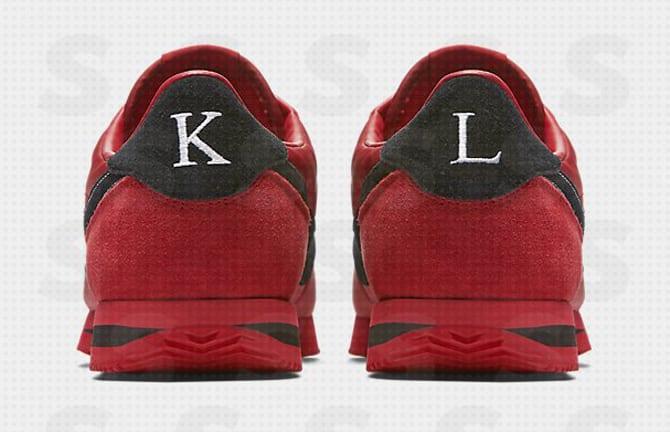 Kendrick Lamar Nike Cortez Damn Heel