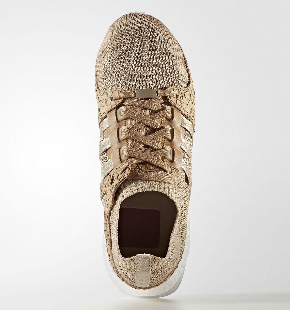 Pusha T x Adidas EQT Support Ultra Primeknit Brown Paper Bag Release Date DB0181 Top