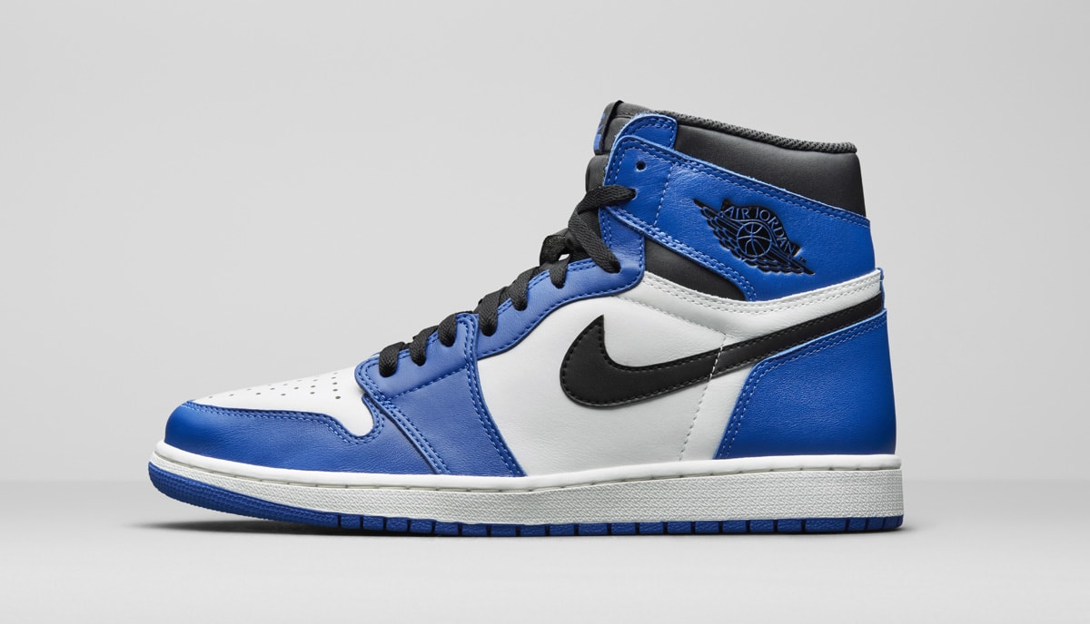 Air Jordan 1 Alternate Black Royal 555088-403