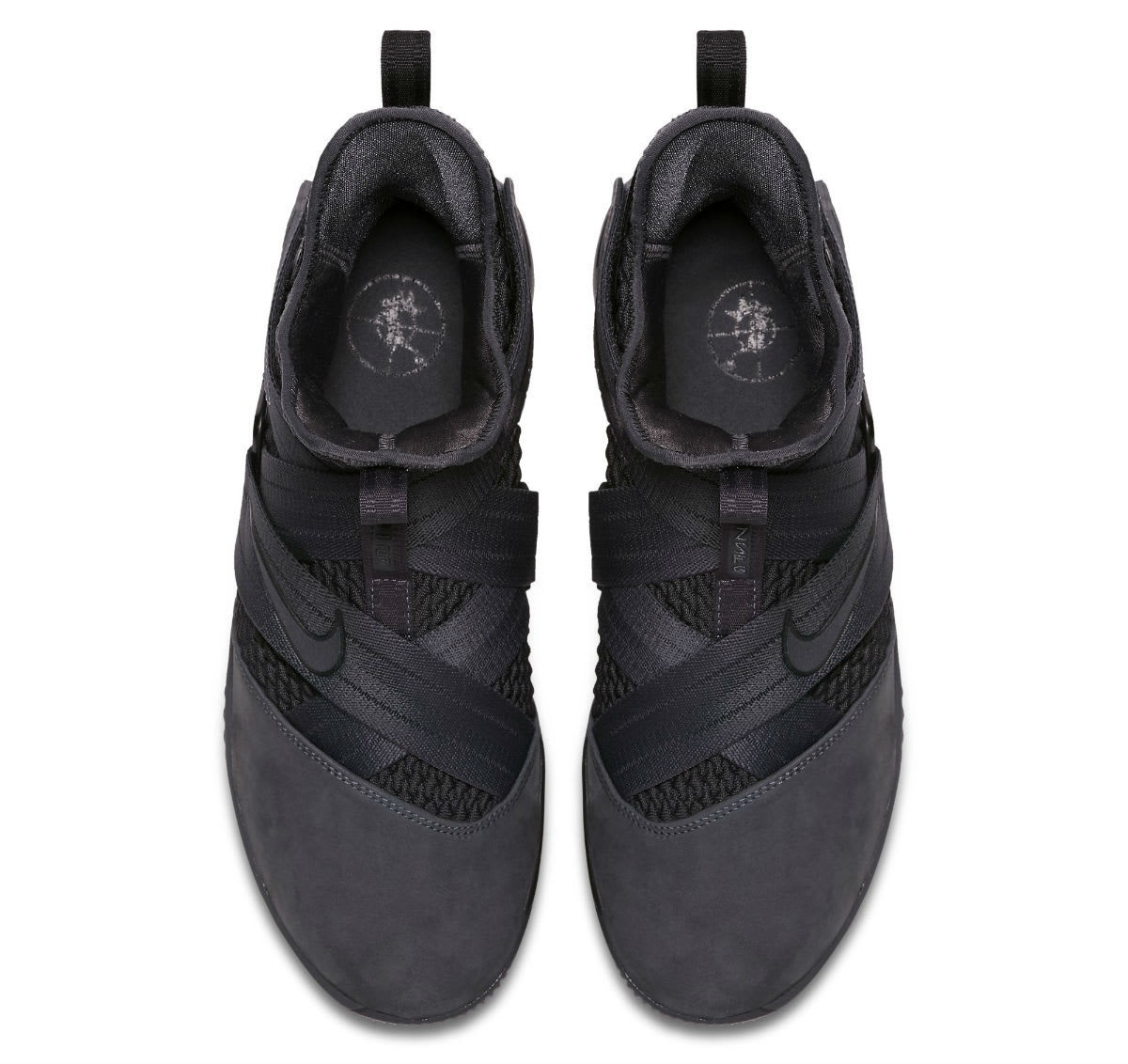 Nike LeBron Soldier 12 XII Zero Dark Thirty Triple Black Release Date AO4054-002 Top