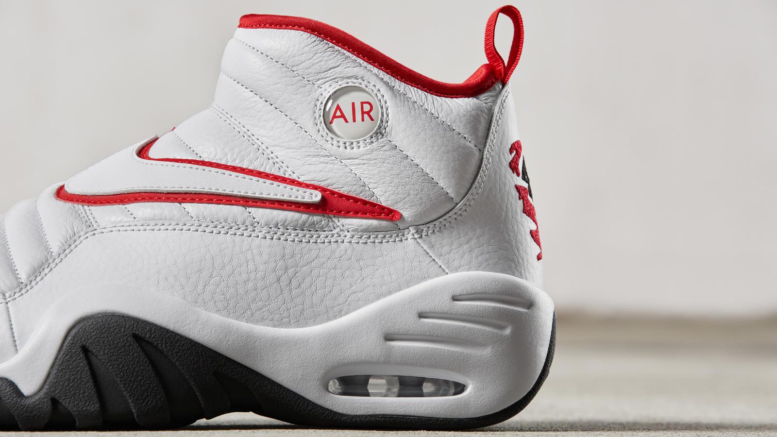 Release Date  Nike Air Shake Ndestrukt Bulls Rear Quarter Release Date ... e397d4411