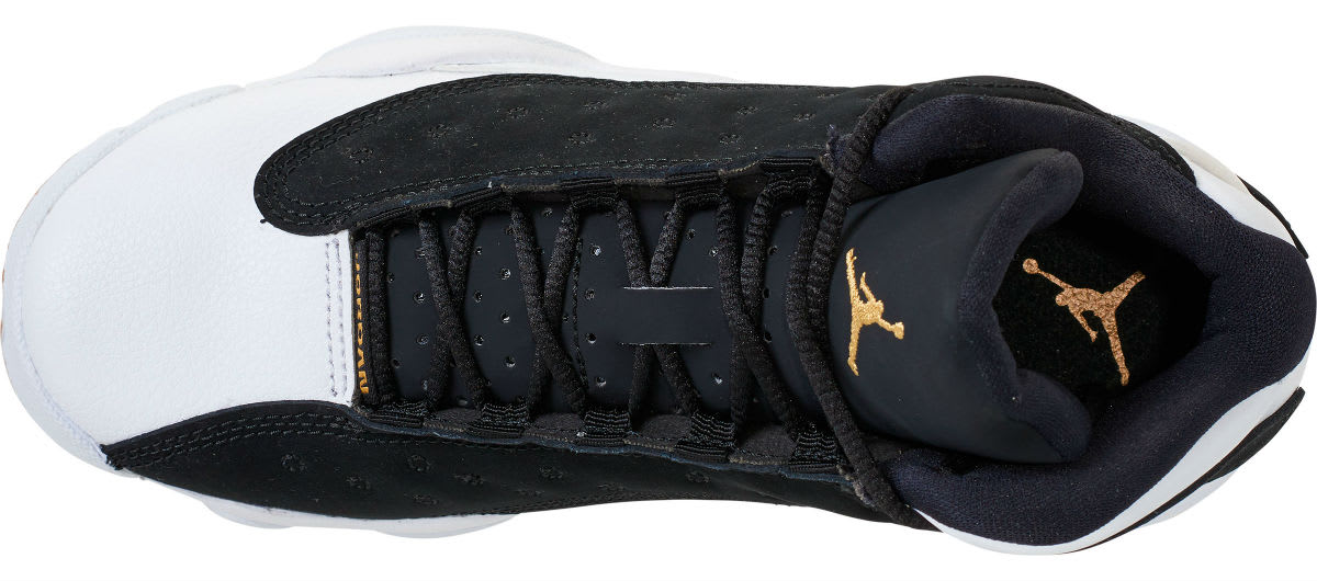 sports shoes fcd9b dc9b9 ... coupon code for air jordan 13 girls black gold white gum release date  439358 021 top