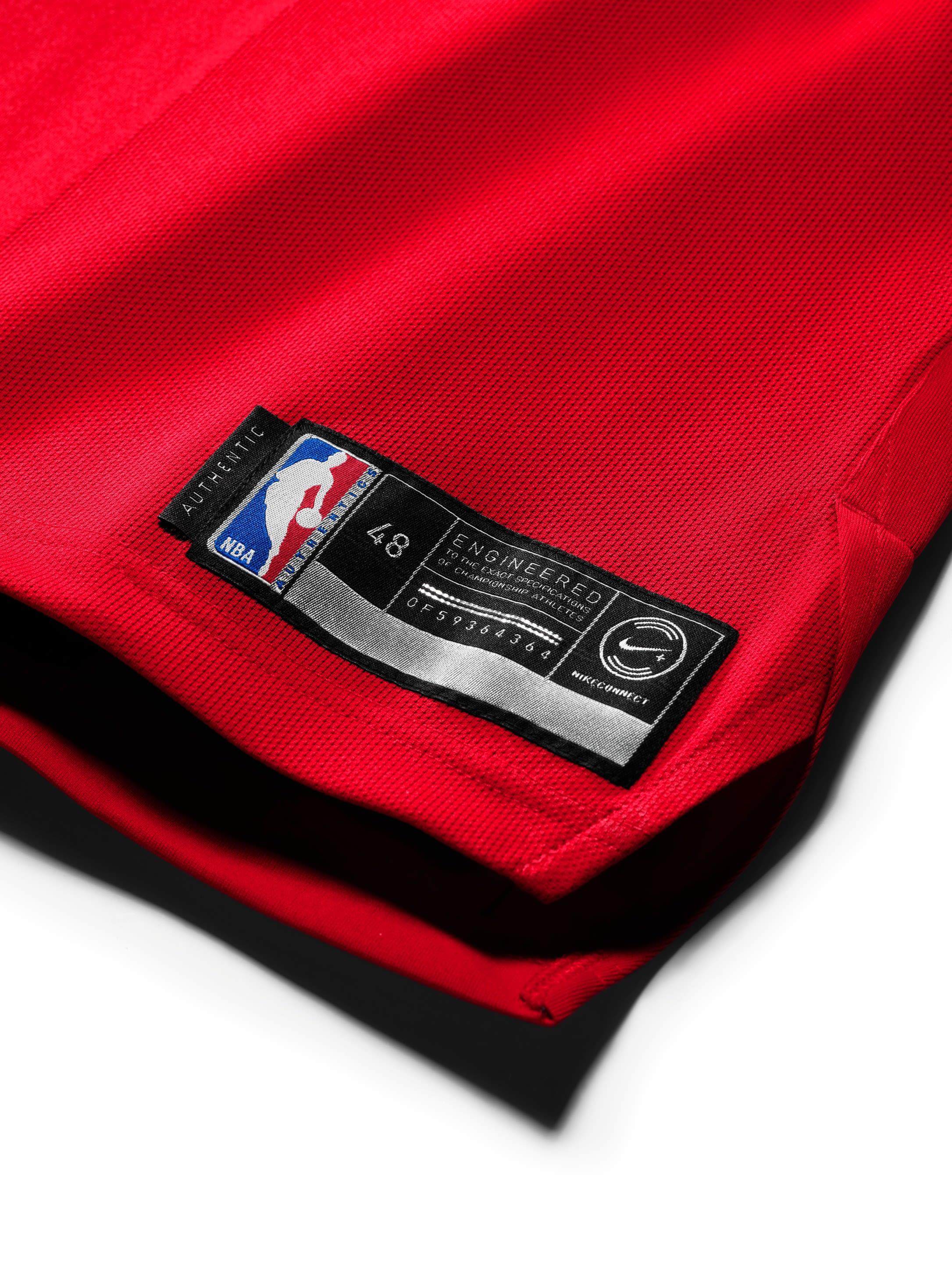 Michael Jordan Chicago Bulls Last Shot Jersey (Authentic Label)