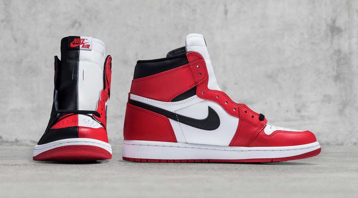 Retro High Top Shoes