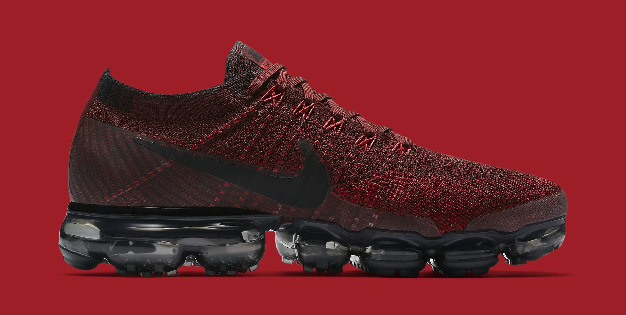 Red Nike VaporMax 849558-601 Medial
