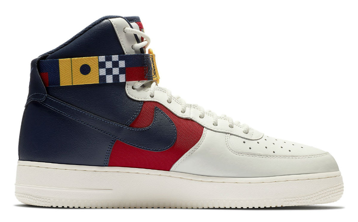 Nike Air Force 1 High Nautical Redux Release Date AR5395-100 Medial