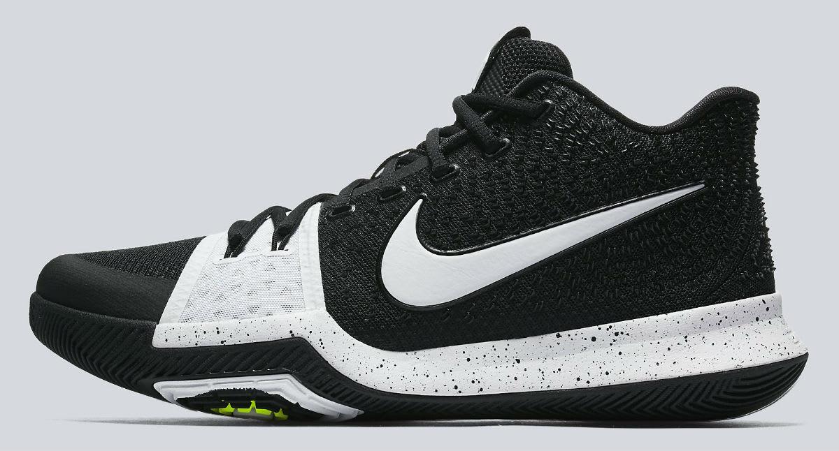 Nike Kyrie 3 Black White Tuxedo Release Date Profile 917724-001