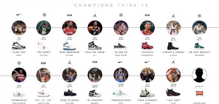 Nike Champions Think 16