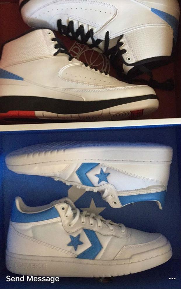 Air Jordan x Converse Pack Release Date
