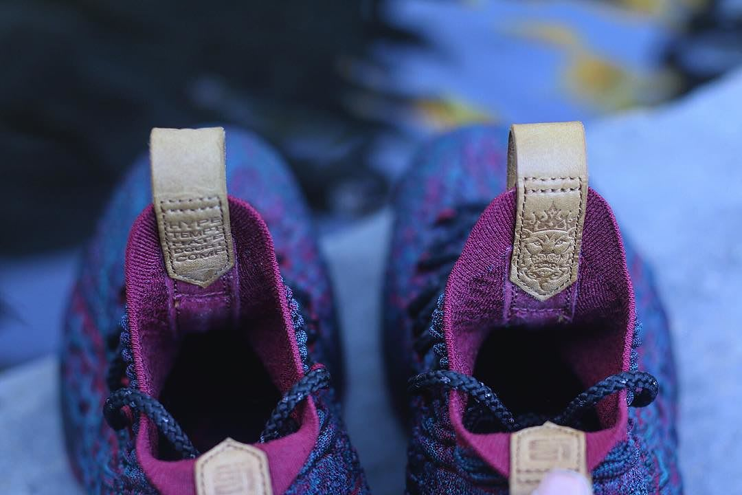 Nike LeBron 15 Cavs Tongue