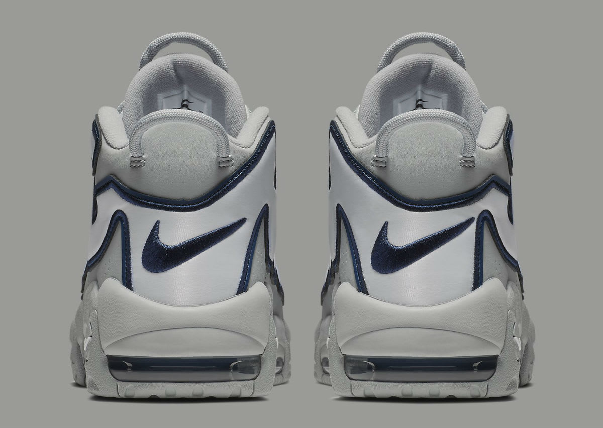 Nike Air More Uptempo NYC Release Date AJ3137-001 Heel