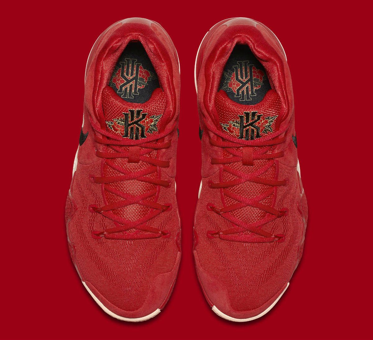 Nike Kyrie 4 CNY Release Date 943807-600 Top