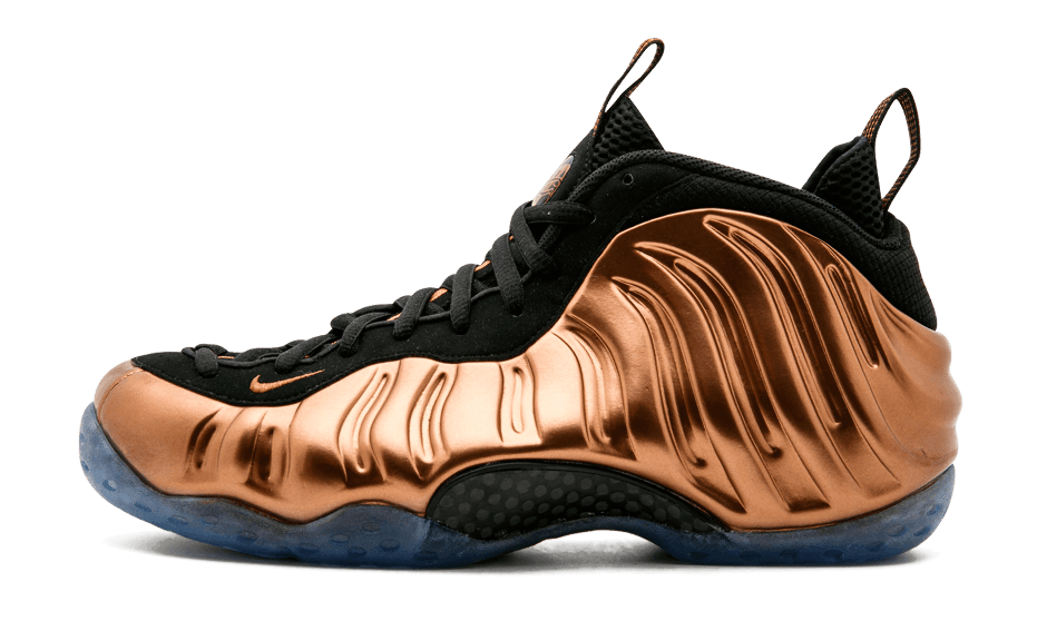 Copper Nike Air Foamposite One Profile