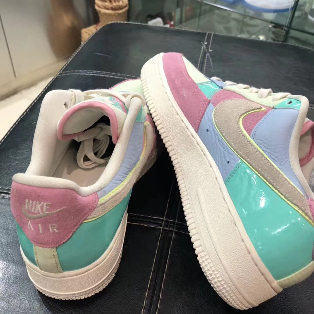 Nike Air Force 1 Low Easter 2018 Release Date Medial