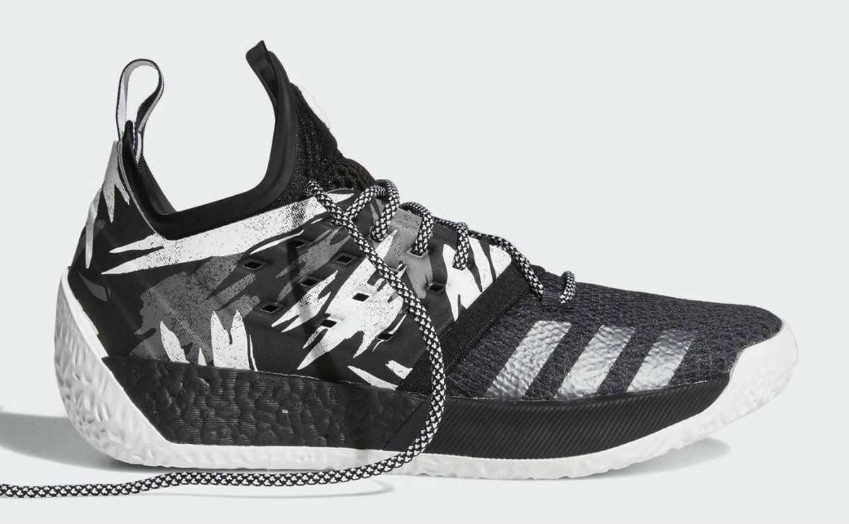 Adidas Harden Vol. 2 Traffic Jam Release Date AH2217 Laces