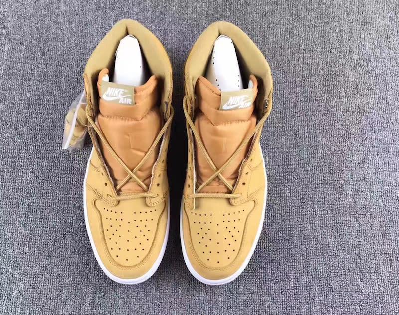 Air Jordan 1 High Golden Harvest Wheat Release Date 555088-710 (3)
