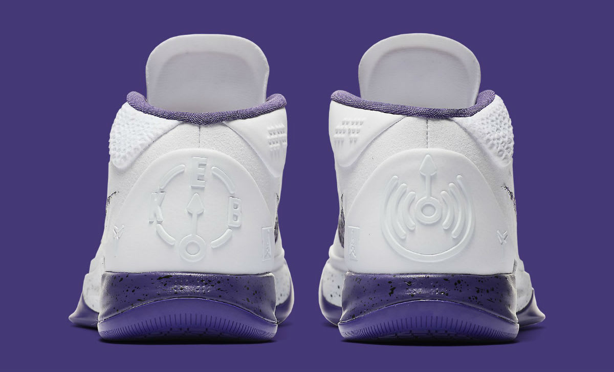 Nike Kobe A.D. Mid Baseline Inline Release Date Heel 922482-100