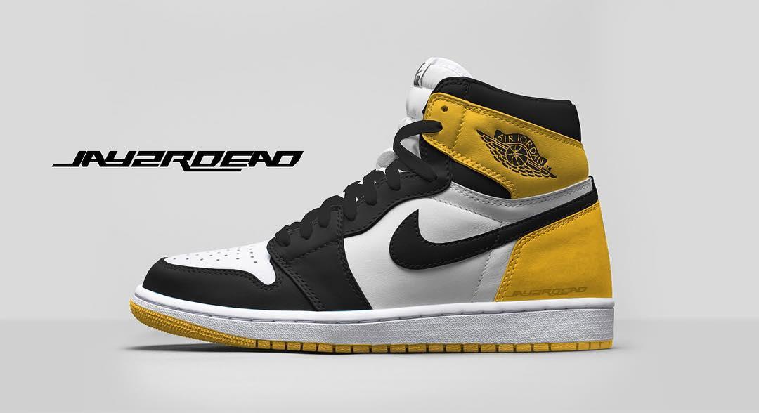 Air Jordan 1 Yellow Ochre Release Date 555088-109