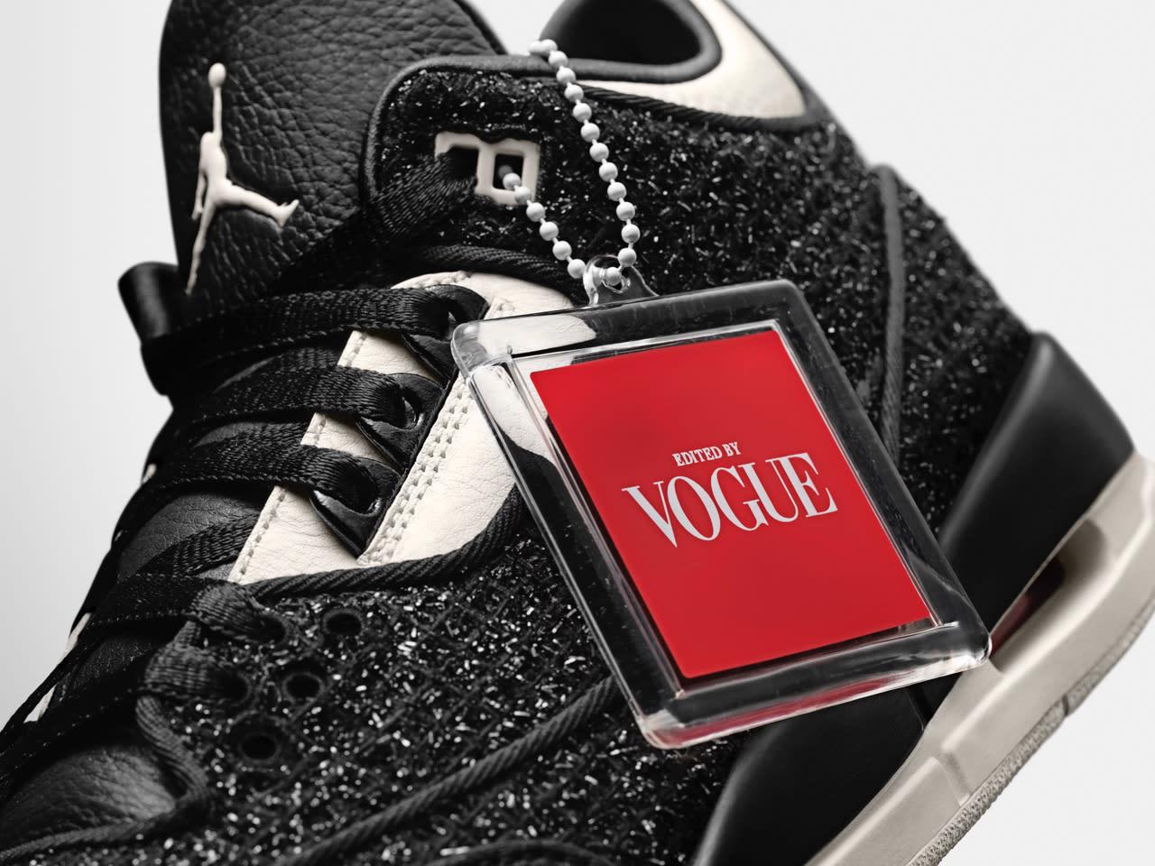 Vogue x Air Jordan 3 'AWOK/Black'