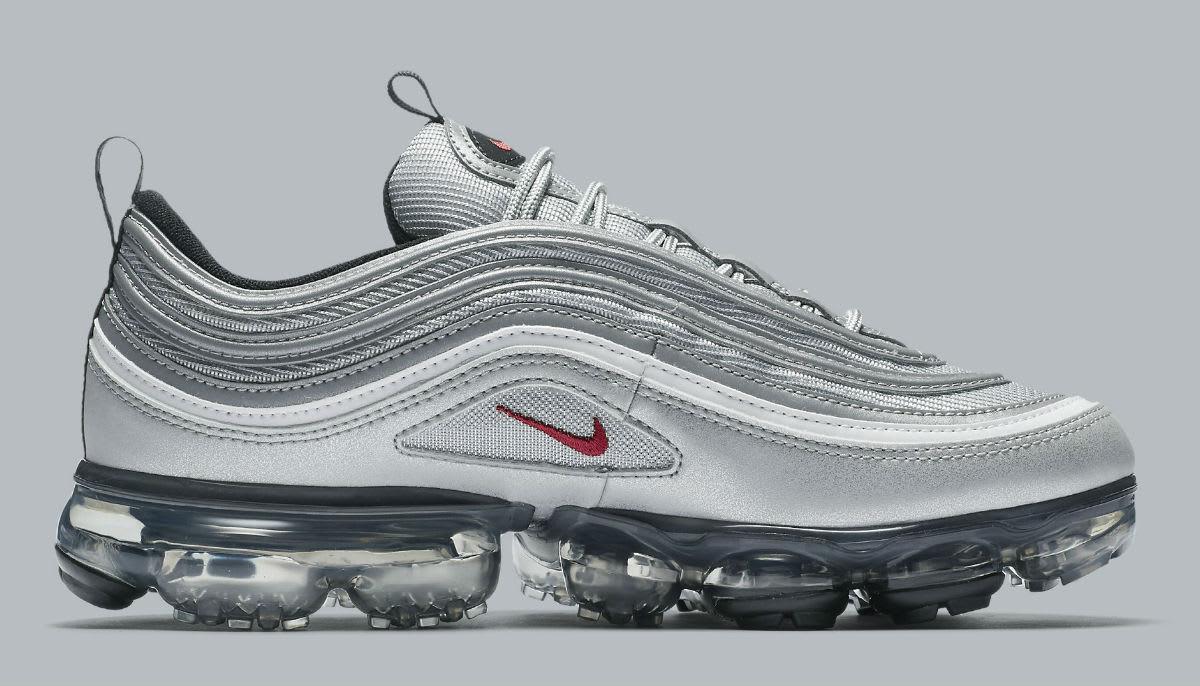 84a88013a6 Nike Air VaporMax 97 Silver Bullet Release Date AJ7291-002 | Sole ...