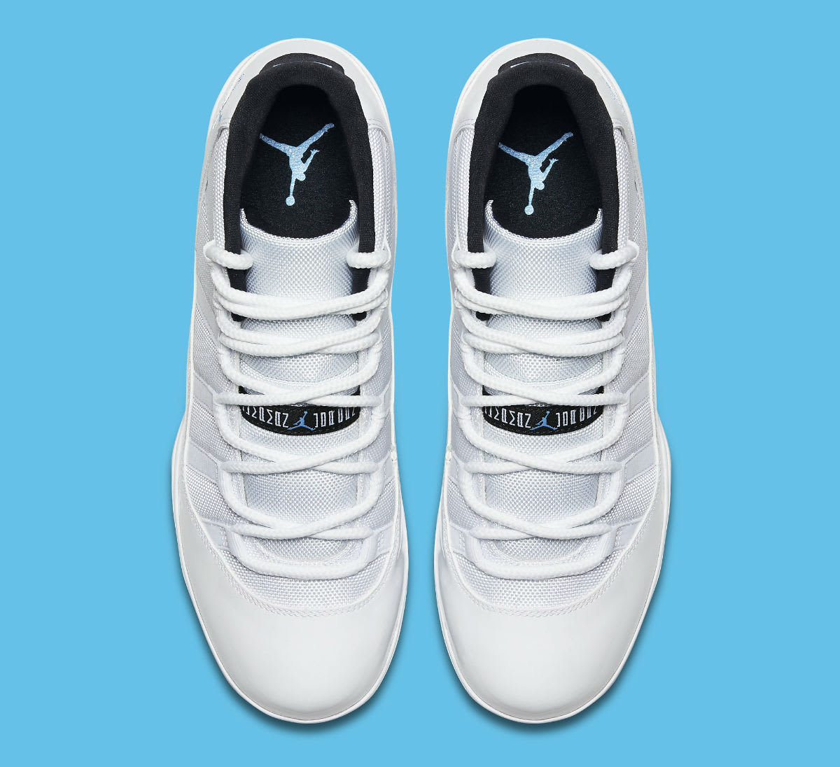 Air Jordan 11 XI Cleats Columbia Release Date AO1561-117 Top