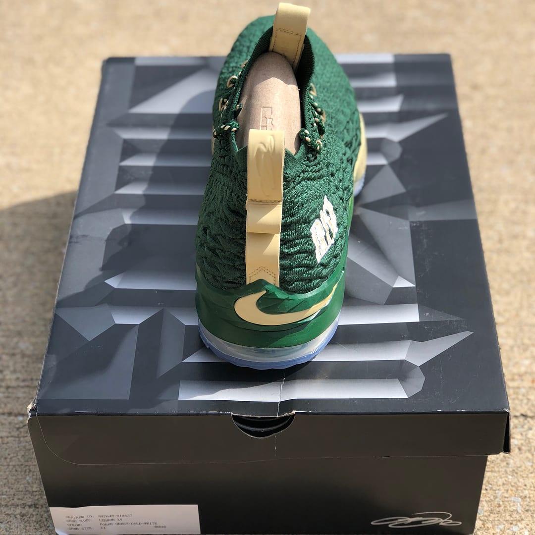 SVSM Nike LeBron 15 PE Green Box